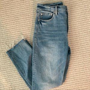 Gap Cigarette Denim Jeans